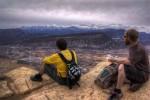 Buddies on Raiders Ridge