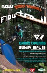 Divinity Downhill Trail grand opening flyer